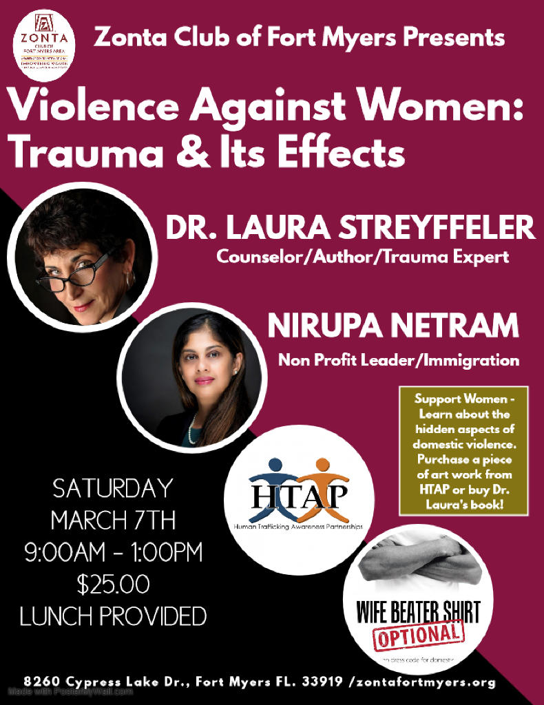Womans Panel Violence Against Women Trauma and Its Effects